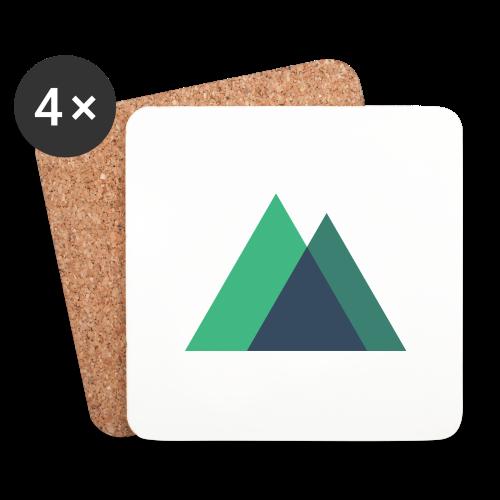 Mountain Logo - Coasters (set of 4)