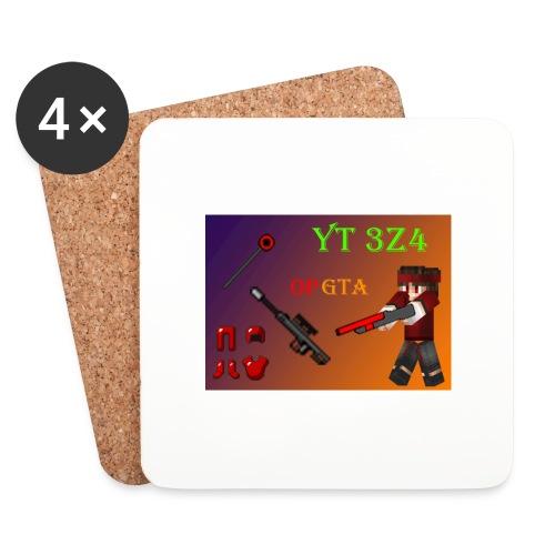 yt 3z4 - Lasinalustat (4 kpl:n setti)