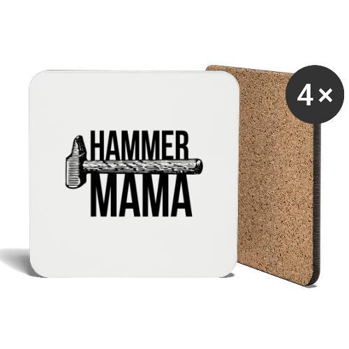 Hammer Mama - Untersetzer (4er-Set)