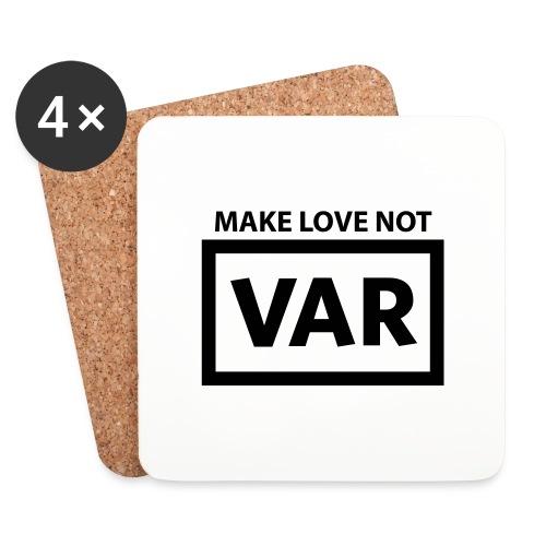 Make Love Not Var - Onderzetters (4 stuks)