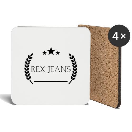 Rex Jeans - Untersetzer (4er-Set)