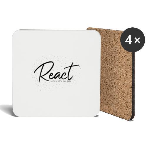 React - Posavasos (juego de 4)