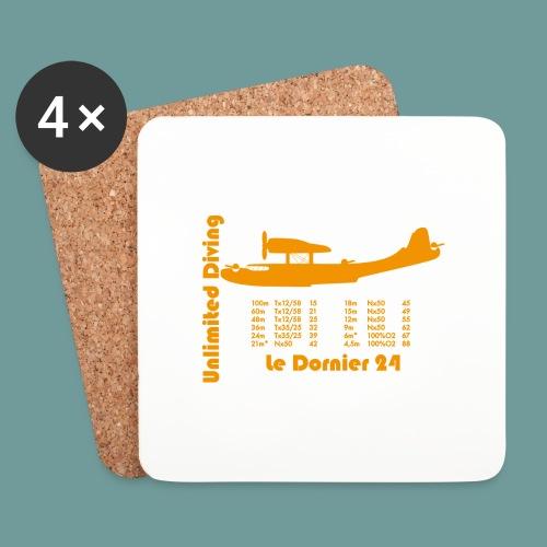 dornier_tx_orange2 - Dessous de verre (lot de 4)