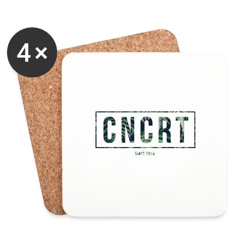 CNCRT white shirt (Plant Print) - Onderzetters (4 stuks)