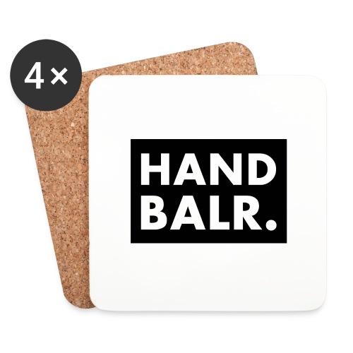Handbalr Wit - Onderzetters (4 stuks)