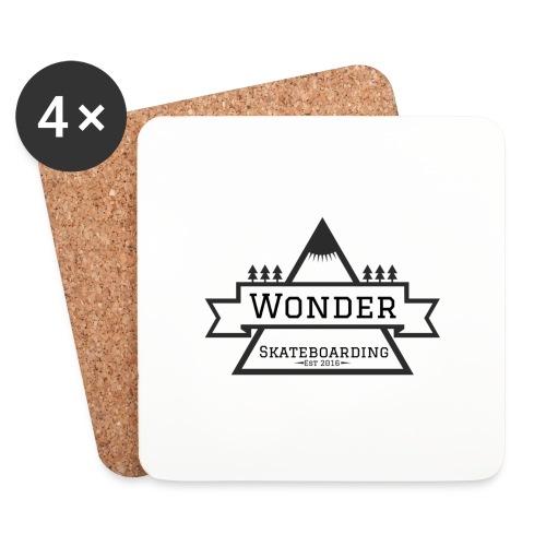 Wonder hoodie no hat - Mountain logo - Glasbrikker (sæt med 4 stk.)
