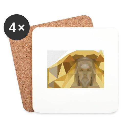 In awe of Jesus - Coasters (set of 4)
