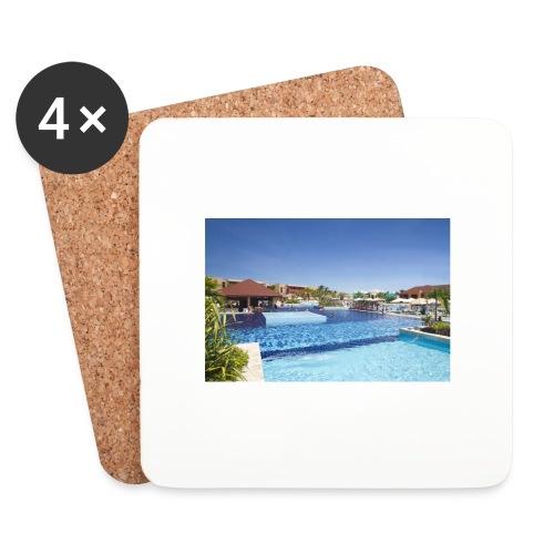 splendide piscine - Dessous de verre (lot de 4)
