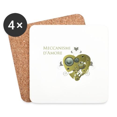 meccanismi_damore - Sottobicchieri (set da 4 pezzi)