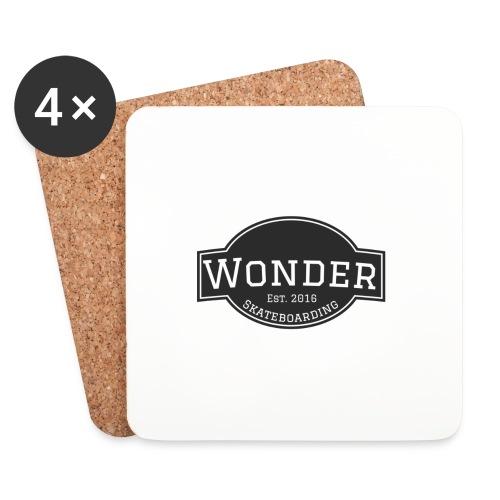Wonder T-shirt - ol' small logo - Glasbrikker (sæt med 4 stk.)