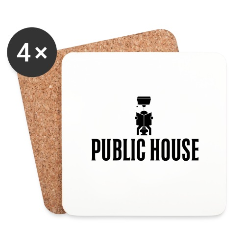 Official Women Shit by Public House - Coasters (set of 4)