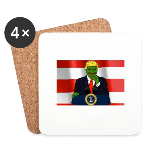 Pepe Trump - Coasters (set of 4)