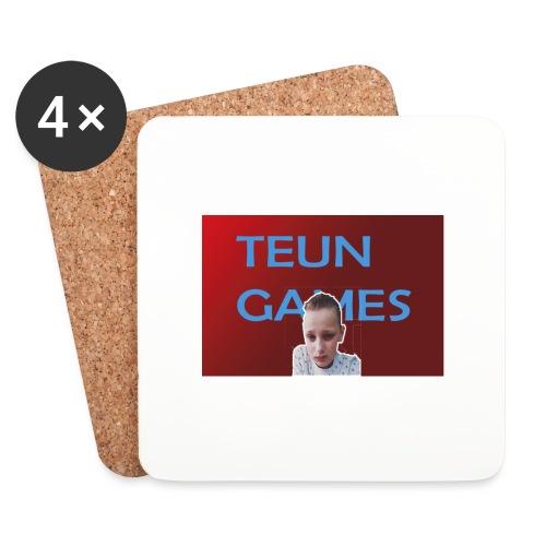 TeunGames foto - Onderzetters (4 stuks)