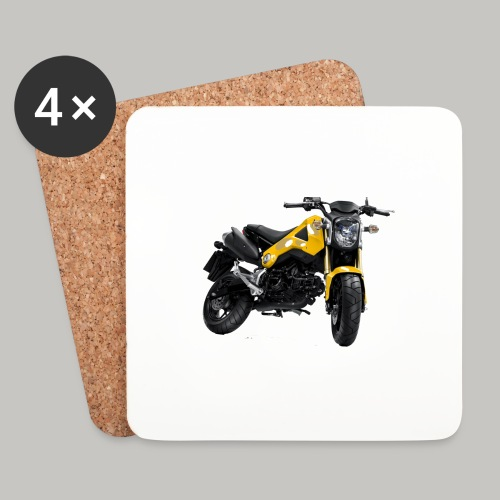 Grom Motorcycle (Monkey Bike) - Coasters (set of 4)