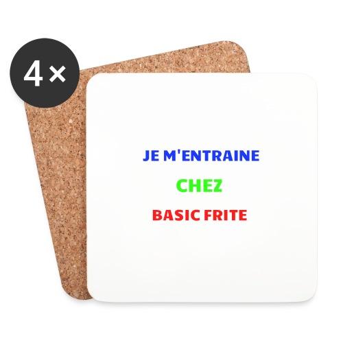Basic Frite - Dessous de verre (lot de 4)