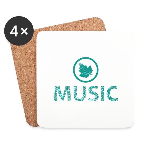 leaf music - Coasters (set of 4)