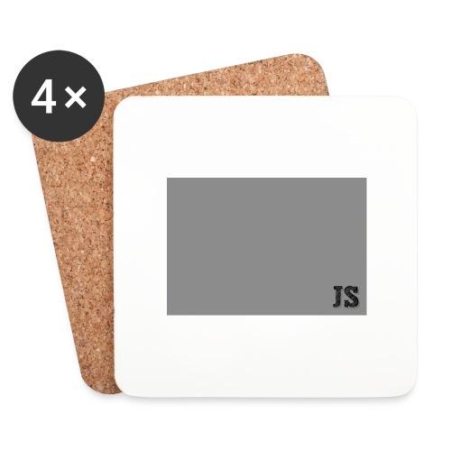 JustSquares Grijs - Onderzetters (4 stuks)