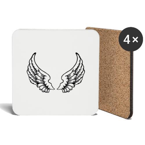 Angel Wings - Coasters (set of 4)