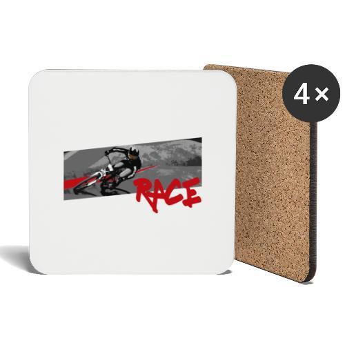 RACE LINE tee - Coasters (set of 4)