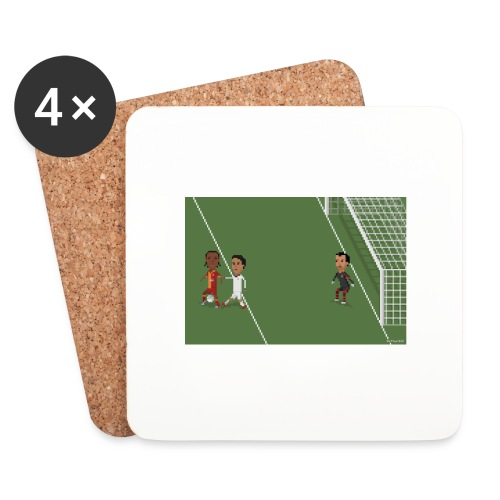 Backheel goal BG - Coasters (set of 4)