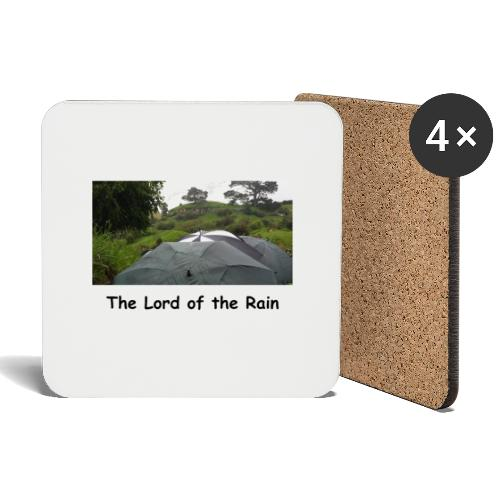 The Lord of the Rain - Neuseeland - Regenschirme - Untersetzer (4er-Set)