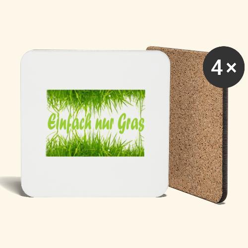 einfach nur gras2 - Untersetzer (4er-Set)