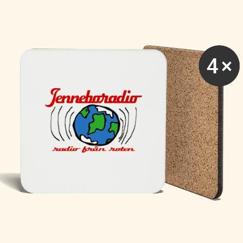 Jenneboradio -Sveriges minsta radiostation - Underlägg (4-pack)
