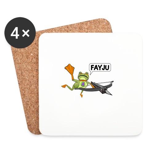 Amazing Frog Crossbow - Coasters (set of 4)