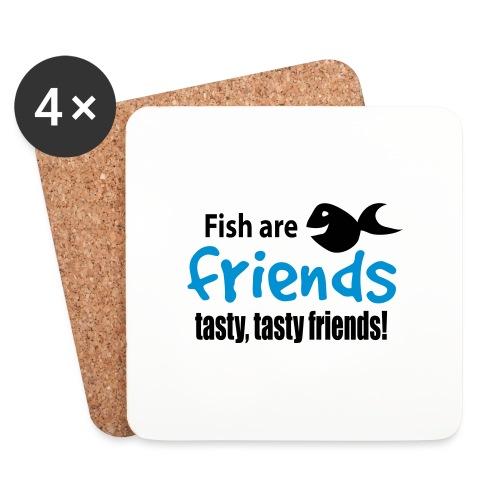Fisk er venner - Brikker (sett med 4)