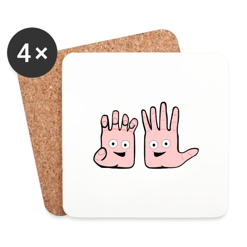 Winky Hands - Coasters (set of 4)