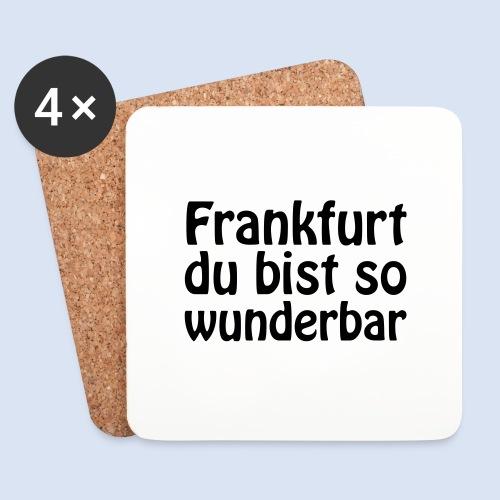 FRANKFURT Du bist so - Untersetzer (4er-Set)