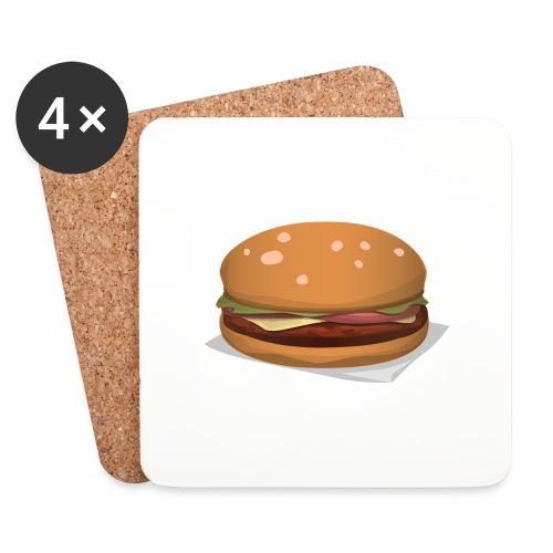 hamburger-576419 - Sottobicchieri (set da 4 pezzi)