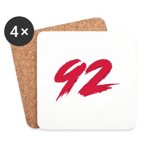 92 Logo 1 - Untersetzer (4er-Set)