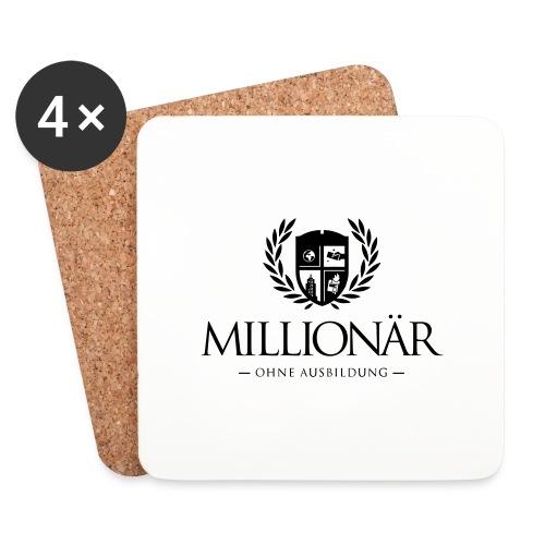 Millionär ohne Ausbildung Jacket - Untersetzer (4er-Set)