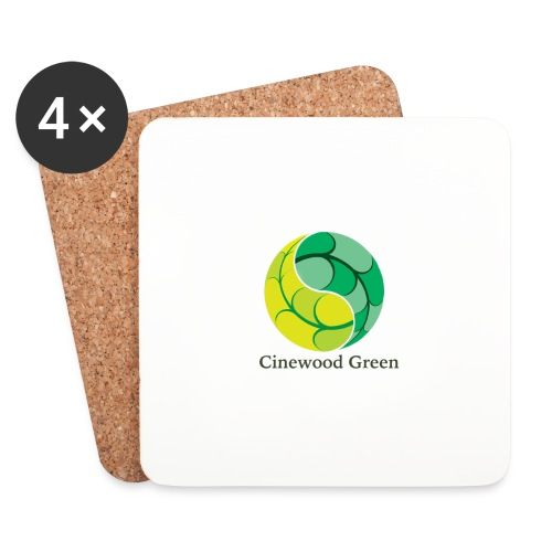 Cinewood Green - Coasters (set of 4)