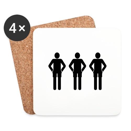 3schwarz - Untersetzer (4er-Set)