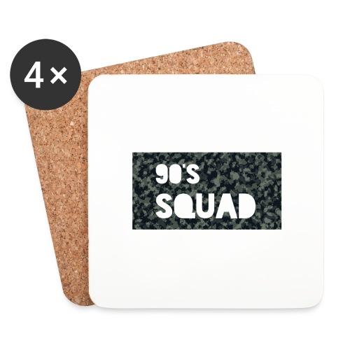 90's SQUAD - Coasters (set of 4)