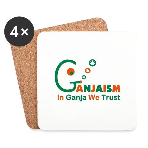 In Ganja We Trust - Coasters (set of 4)