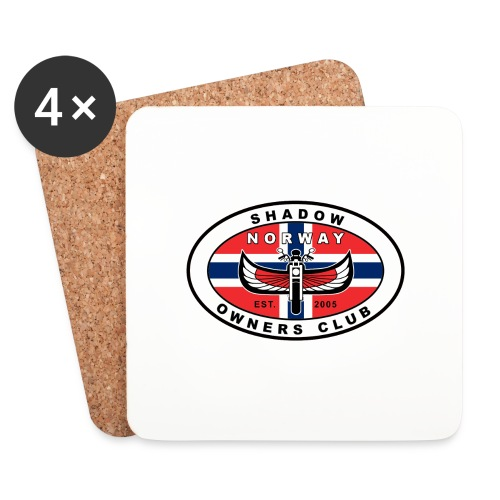 SHOC Norway Patch jpg - Brikker (sett med 4)