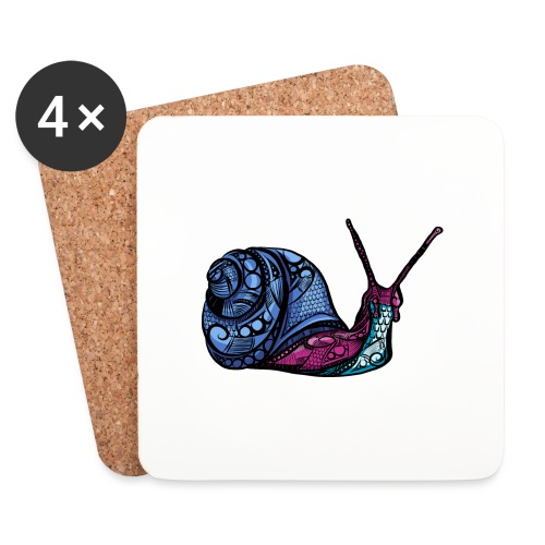 Snegle - Brikker (sett med 4)