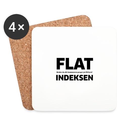 Jeg legger meg flat - Brikker (sett med 4)