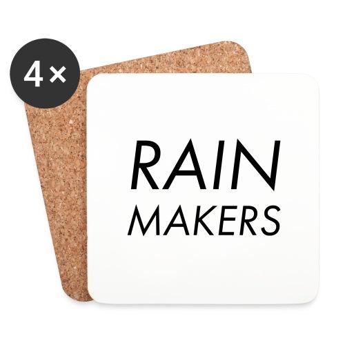 rainmakertext - Lasinalustat (4 kpl:n setti)