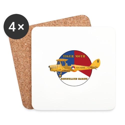 Tiger Moth Kon Marine - Coasters (set of 4)