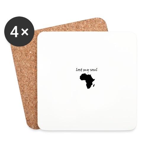 lost my soul in africa - Untersetzer (4er-Set)