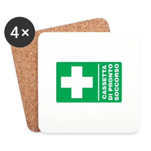 cartello png - Sottobicchieri (set da 4 pezzi)
