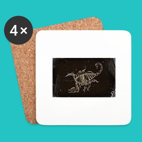 skorpion_grafika-jpg - Podstawki (4 sztuki w zestawie)