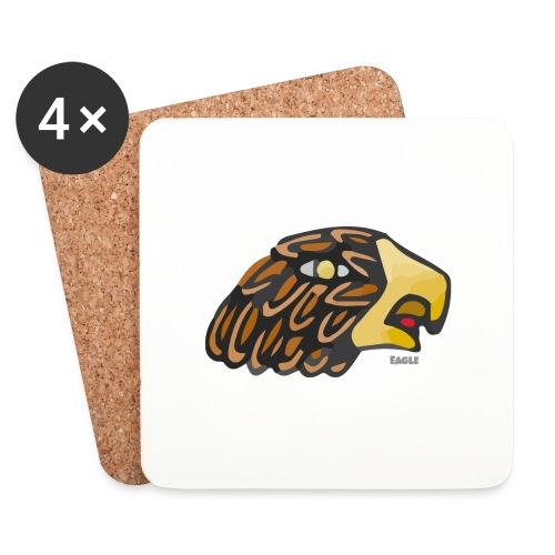 Aztec Icon Eagle - Coasters (set of 4)