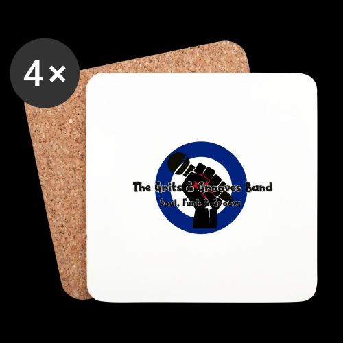 Grits & Grooves Band - Coasters (set of 4)