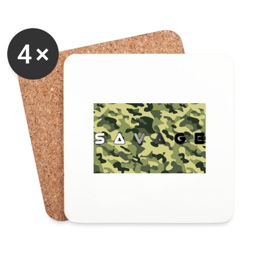 savage camo premium - Untersetzer (4er-Set)