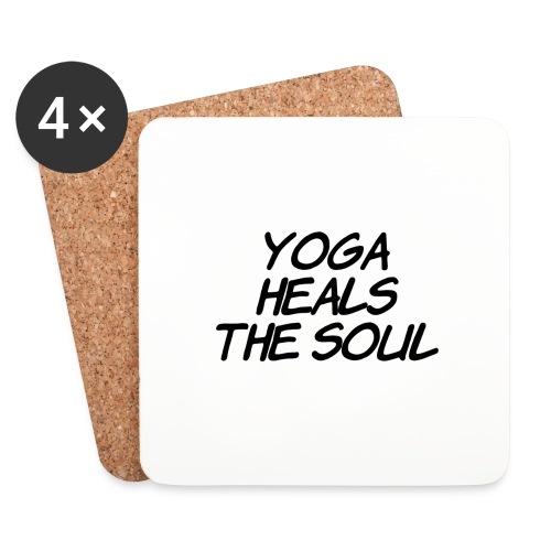 yoga - Onderzetters (4 stuks)